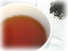 キーマン紅茶の水色
